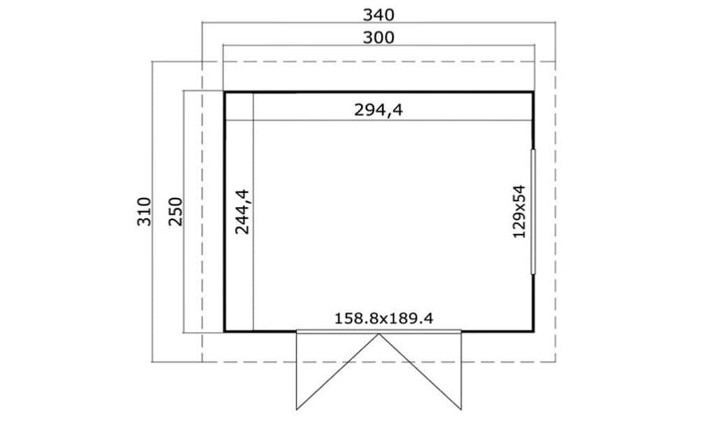 Comment comprendre les diff rentes dimensions de votre for Dimension portillon de jardin