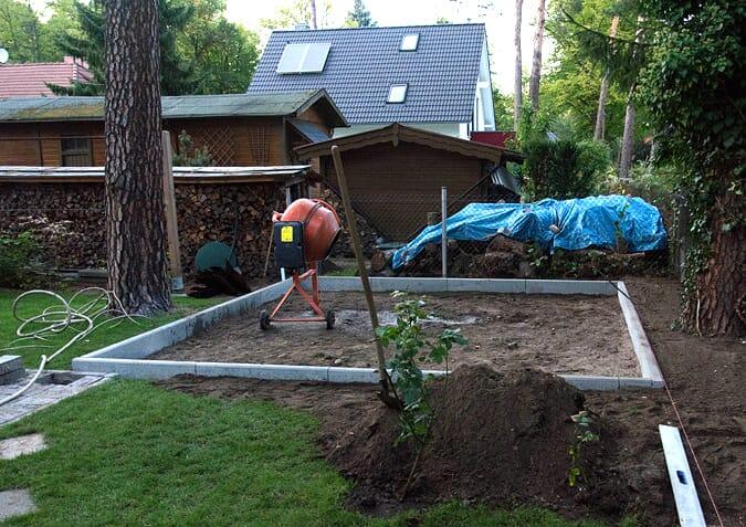 Pour l'installation, doit on obligatoirement faire une dalle de béton ?