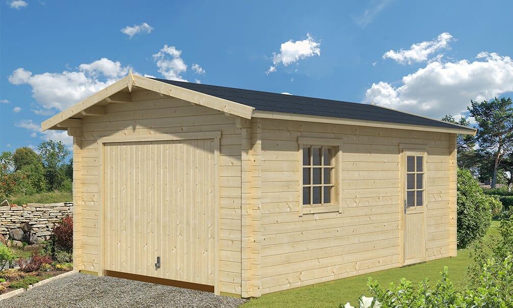 Choisir votre garage avec porte basculante